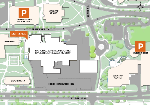 NSCL Parking Map